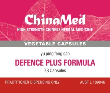 China Med - Defence Plus Formula (Yu Ping Feng San 玉屏風散 CM192)