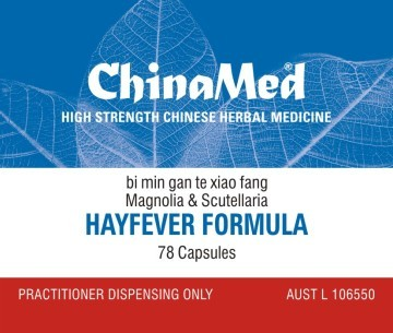 China Med - Hayfever Formula