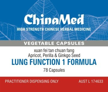 China Med - Lung Function 1 Formula