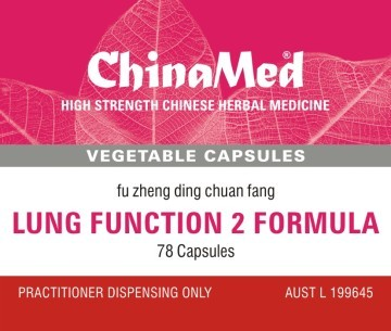China Med - Lung Function 2 Formula