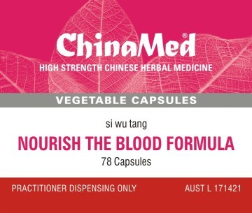 China Med - Nourish the Blood Formula (Si Wu Tang 四物湯 CM186)