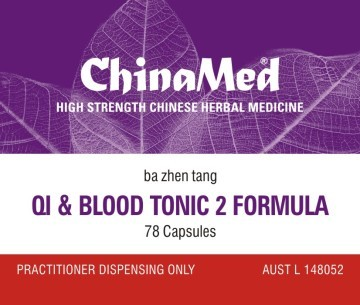 China Med - Qi and Blood Tonic 2 Formula (Ba Zhen Tang 八珍湯 CM165)