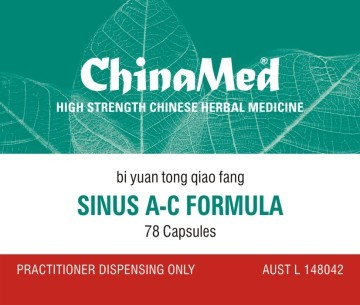 China Med - Sinus A - C Formula