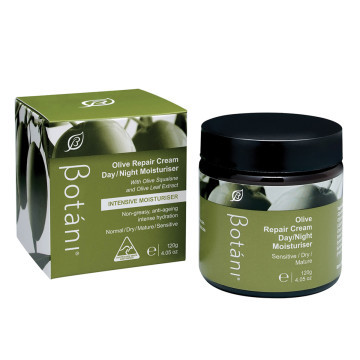 Botani Olive Repair Cream Day/Night Moisturiser (Sensitive/Dry/Mature) 120g