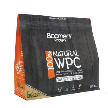 Boomers 100 perc Whey Protein Concentrate 1 KG