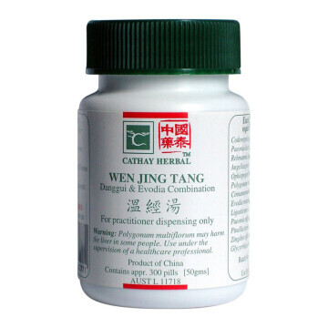 Cathay Herbal Danggui & Evodia Combination (Wen Jing Tang 温經湯)