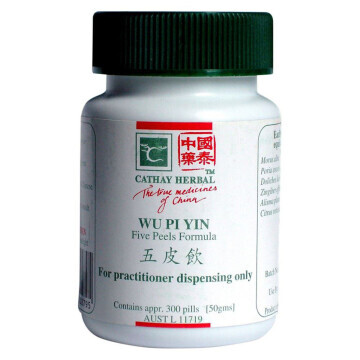 Cathay Herbal Five Peels Formula (Wu Pi Yin 五皮飲)