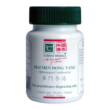Cathay Herbal Ophiopogon Combination (Mai Men Dong Tang 麥門冬湯)