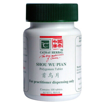 Cathay Herbal Polygonum (Shou Wu Pian 首烏片)