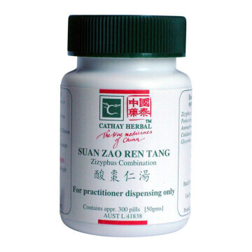 Cathay Herbal Zizyphus Combination (Suan Zao Ren Tang 酸棗仁湯)