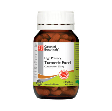Oriental Botanicals Turmeric Excel 30 tablets