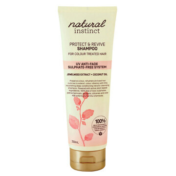 Natural Instinct Shampoo Protect & Revive for Colour Treated Hair (Jewelweed + Coconut Oil) 250ml